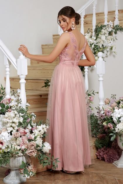 длинное синее платье. Платье Вайнона б/р. Цвет: лиловый цена