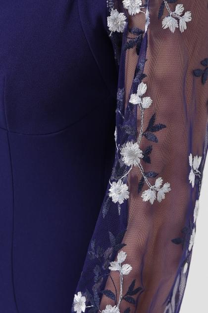 нарядное лавандовое платье. Платье Флоренция В д/р. Цвет: синий в Украине