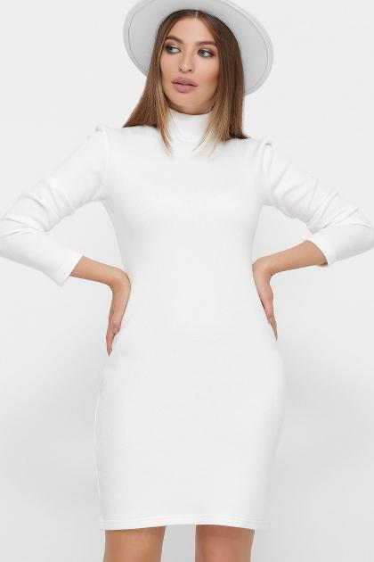 платье-гольф из ангоры. Платье-гольф Алена1 д/р. Цвет: белый цена