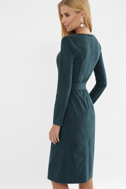 . Платье Гелия д/р. Цвет: изумруд в интернет-магазине