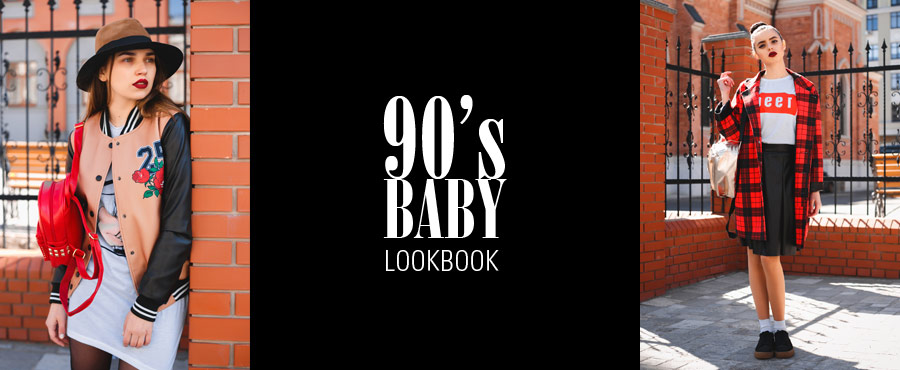 90's BABY LOOKBOOK
