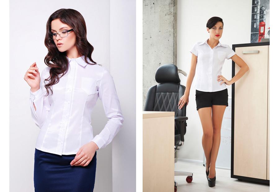 Camisas de blusas de negócios O que vestir para um trabalho de escritório