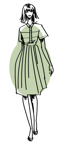 1 Тип фигуры груша Как выбрать вечернее платье