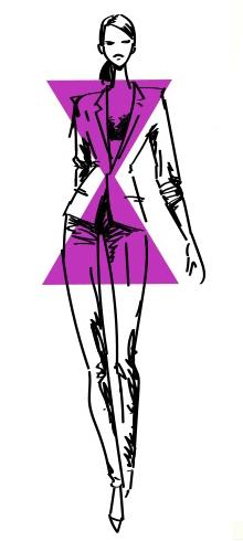 5 Тип фигуры песочные часы Как выбрать вечернее платье