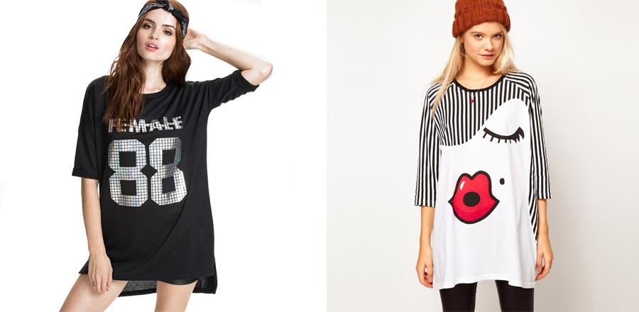 Какие футболки будут в моде в 2018 Оверсайз 1 7bbdfdde17633