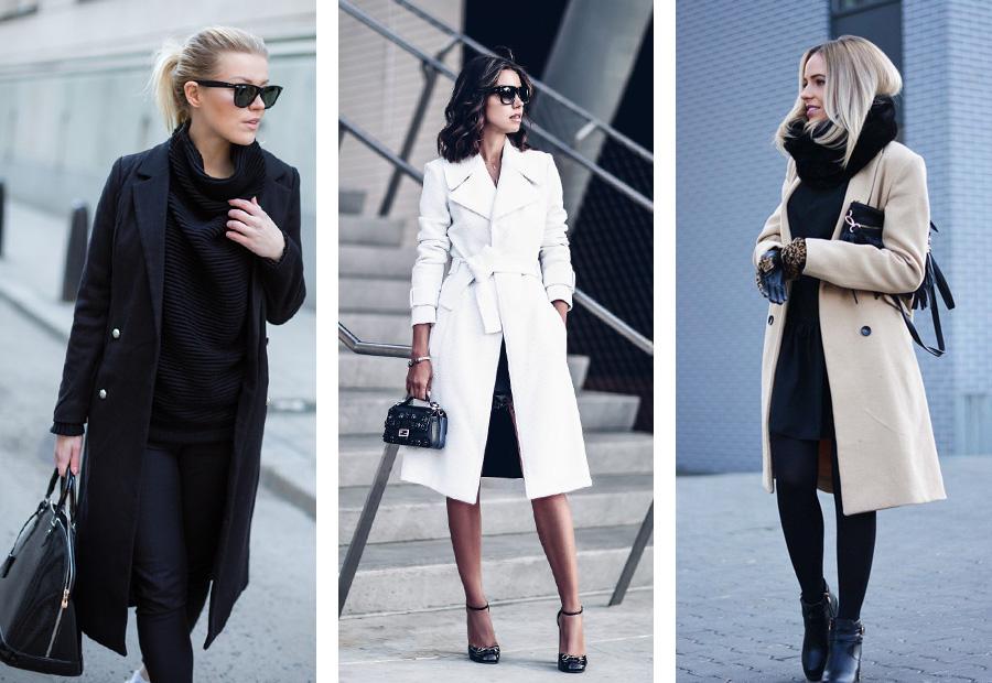2 С чем носить пальто. Классический стиль