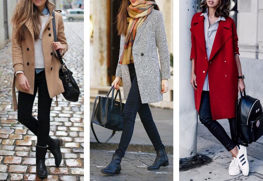 3 С чем носить пальто. Классический стиль