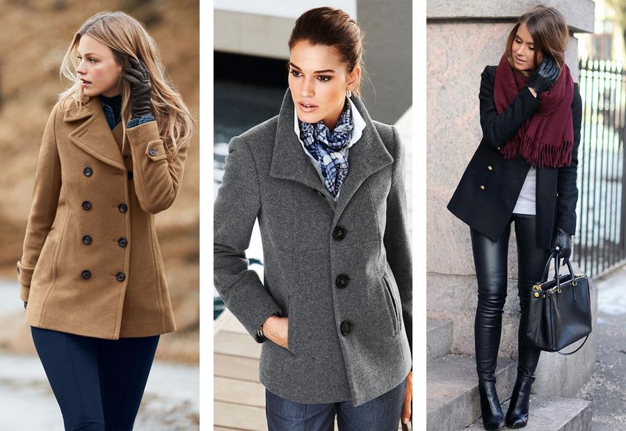 4 С чем носить пальто. Короткие пальто