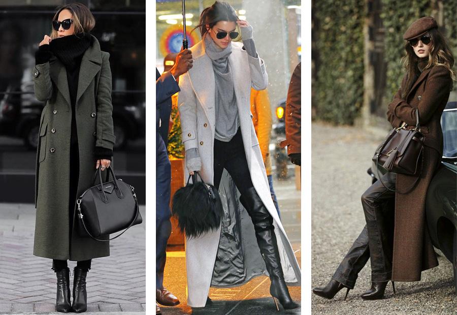 5. С чем носить пальто. Пальто макси