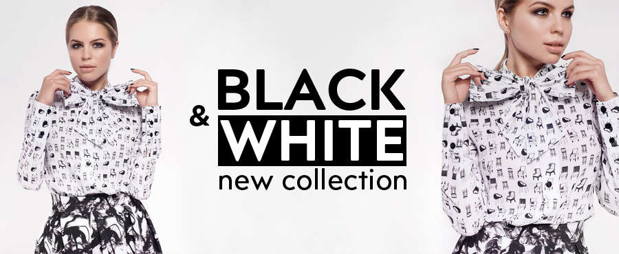 Новая коллекция Black & White main
