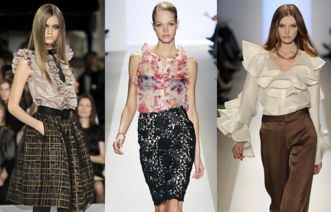 История возникновения женской блузки 2