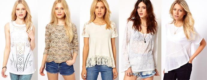 Camisetas e camisetas femininas: antipirético para um verão na moda!