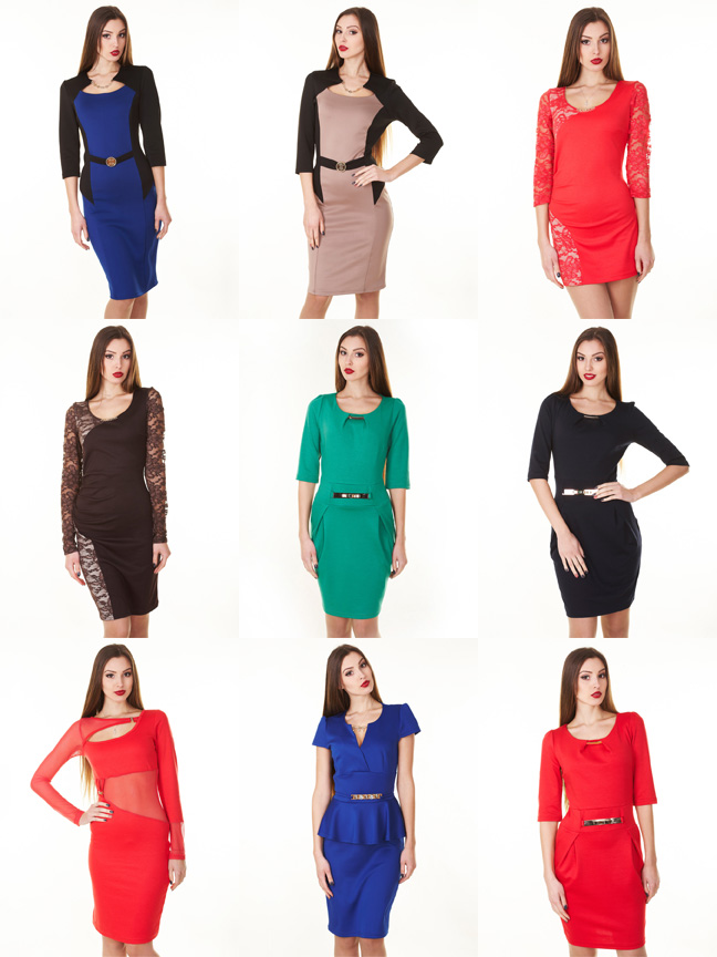 Escolha vestidos para festa corporativa