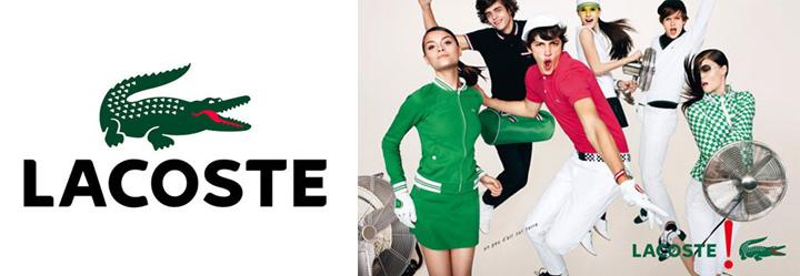 Conheça a nossa: A história dos logotipos das marcas de moda Lacoste
