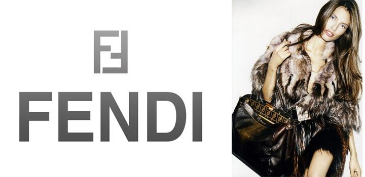 Conheça a nossa: A história dos logotipos da marca de moda FENDI