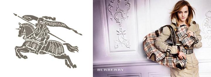 Conheça a nossa: A história dos logotipos das marcas de moda Burberry