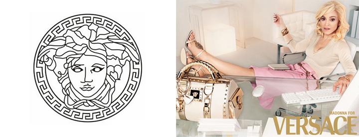 Conheça a nossa: A história da Versace Fashion Brand Logos