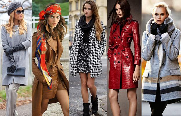 Material perfeito para um casaco feminino elegante