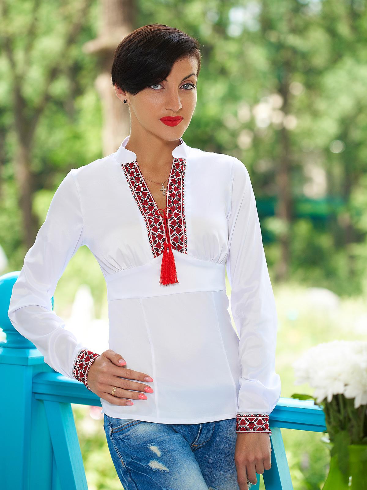Блузка украинская своими руками